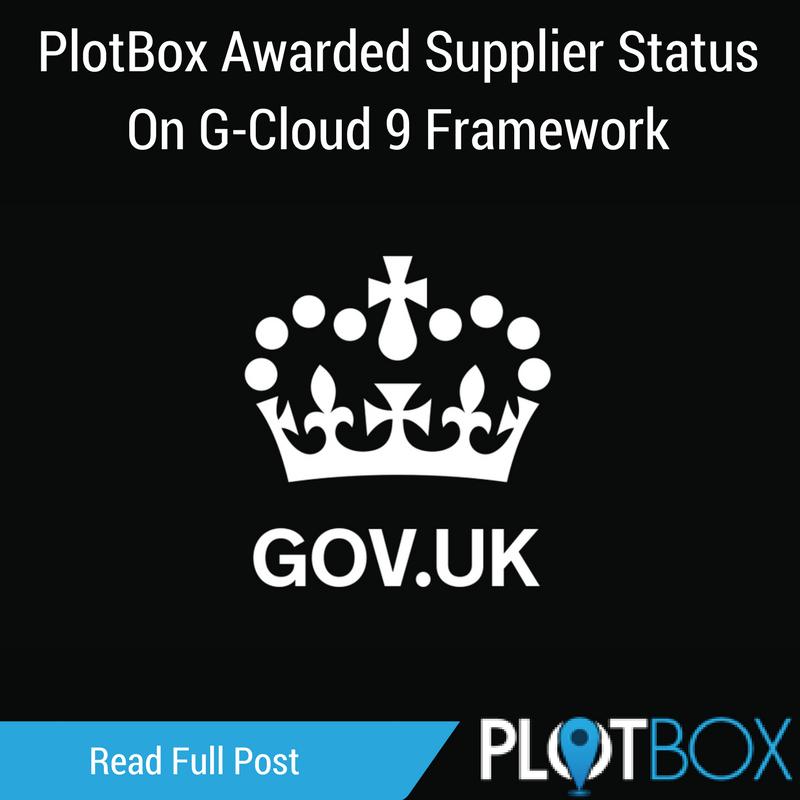 PlotBox Awarded Supplier Status On G-Cloud Framework.png