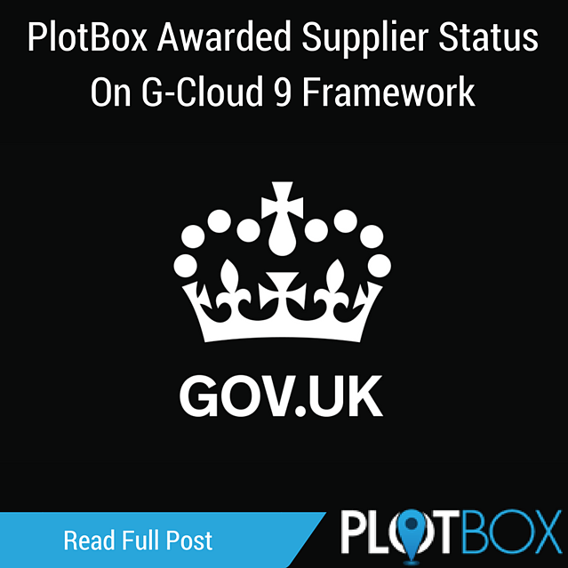 PlotBox Awarded Supplier Status On G-Cloud Framework.png