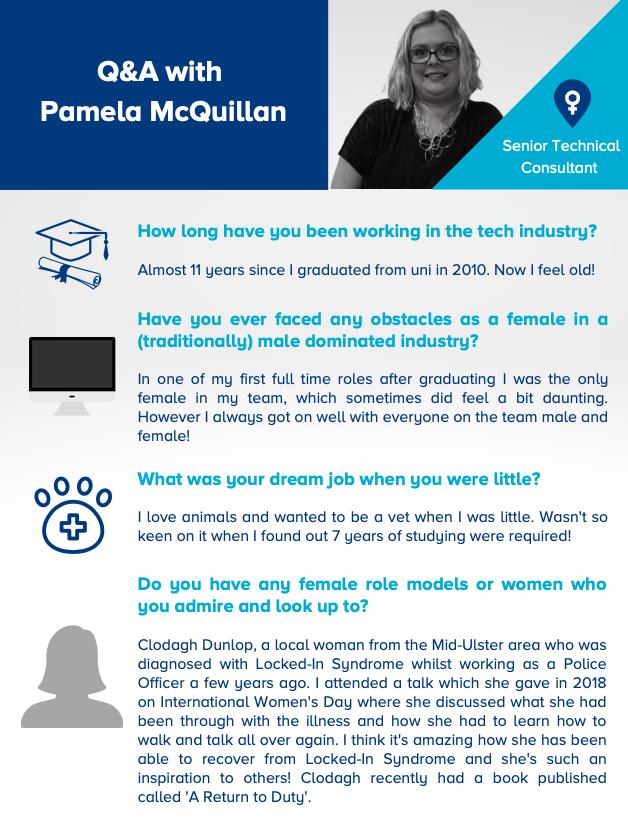 Q&A with Pamela McQuillan