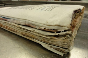 Image of old paper documents